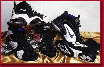 new product 453bd 7b095 Basketball and wrestling shoes, 55-140. Featured Nike Air Max CW, Nike  Air Strong HI, Nike Air Penny and Nike Air Dvst 8.